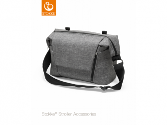 Přebalovací taška, Black Melange