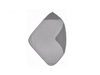 mušelínová osuška grey/lightgrey