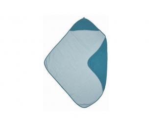 mušelínová osuška Petrol/sea blue