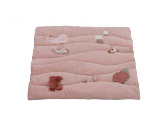 Hrací deka ocean pink