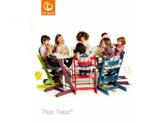 "Židlička Tripp Trapp® dub - White Natural ""Oak Natural"" 4"