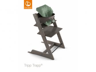 Polstrování baby k židličce Tripp Trapp® - Timeless Green (Organic Cotton) 2