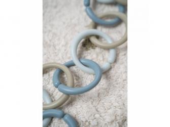 Spojovací kroužky řetěz BLUE