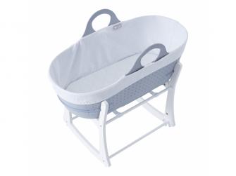 Košík na miminko Sleepee se stojanem Grey 2