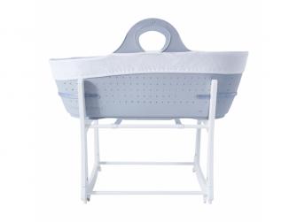 Košík na miminko Sleepee se stojanem Grey 3
