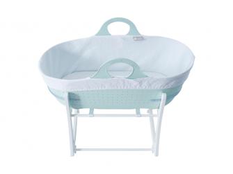 Košík na miminko Sleepee se stojanem Mint Green