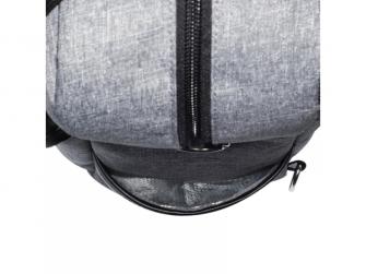 Přebalovací batoh a taška na kočárek 2v1 DUAL, grey melange 6