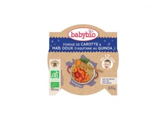 večerní menu mrkev a sladká kukuřice s quinoa 230g
