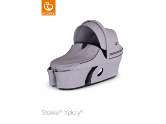 Korba na kočárek Xplory®, Brushed Lilac