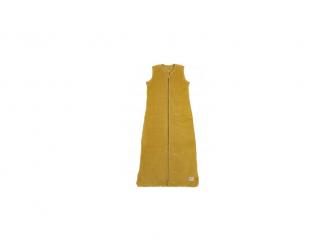 Sametový zimní vak na spaní 70cm - honey gold