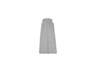 Sametový zimní vak na spaní 90cm - light grey