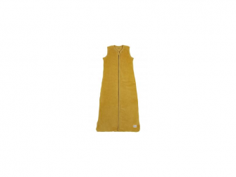 Sametový zimní vak na spaní 90cm - honey gold