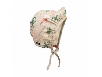 Zimní čepeček pro miminka Meadow Blossom 0-3m