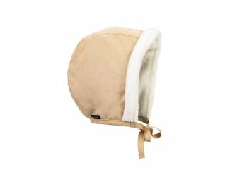 Zimní čepeček pro miminka Alcantara 0-3m