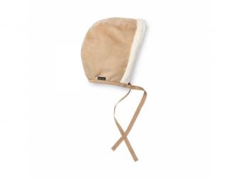 Zimní čepeček pro miminka Alcantara 6-12m 2