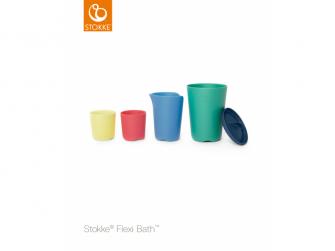 Hrníčky na hraní ke skládací vaničce Flexi Bath®