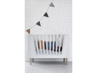 Dětská postýlka 120x60 cm - bílá 4