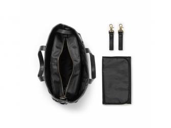 Přebalovací taška Tote Braided Leather 2