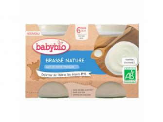 Brassé z francouzského mléka natur 2x130 g