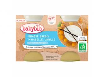 Brassé z ovčího mléka mirabelky vanilka 2x130 g