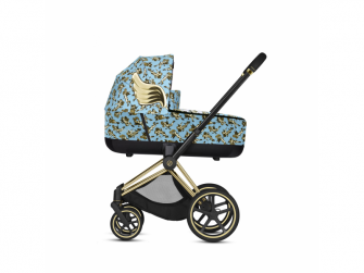 Priam Lux Carry Cot JS Cherub Blue 2020 2