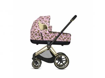 Priam Lux Carry Cot JS Cherub Pink 2020 2