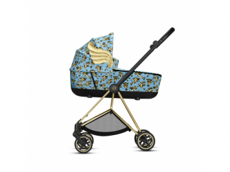 Mios Lux Carry Cot JS Cherub Blue 2020 2