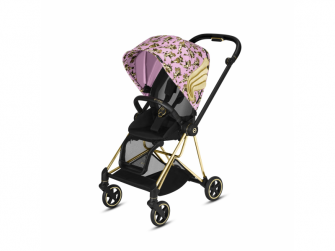 Mios Lux Carry Cot JS Cherub Pink 2020 2