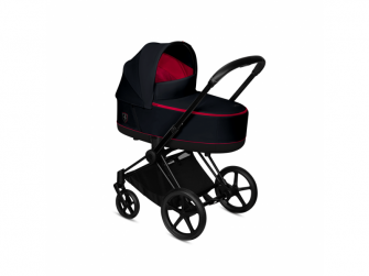 Priam Lux Carry Cot Fer.Victory Black 2020 5