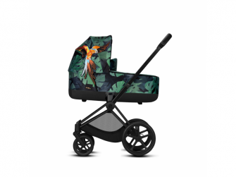 Priam Lux Carry Cot Birds of Paradise 2019 2