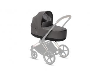 Priam Lux Carry Cot Manhattan Grey 2019 2