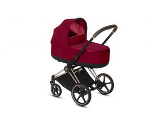 Priam Lux Carry Cot True Red 2019 3