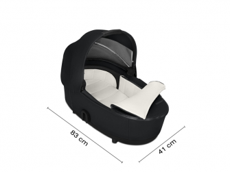 Mios Lux Carry Cot Premium Black 2019 2