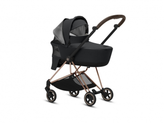 Mios Lux Carry Cot Manhattan Grey 2019 12