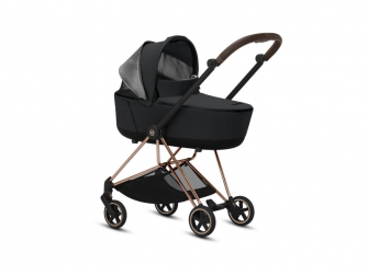 Mios Lux Carry Cot Manhattan Grey 2019 13
