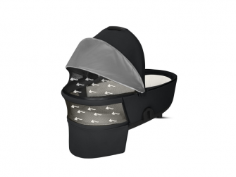Mios Lux Carry Cot Manhattan Grey 2019 6