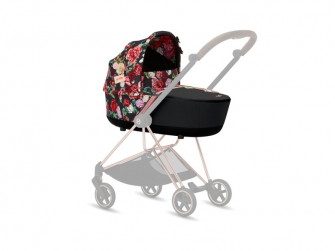 Mios Lux Carry Cot Spring Dark 2020 4