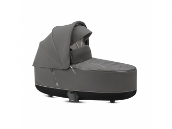 Priam Lux Carry Cot Soho Grey 2020 2
