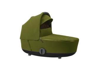 Mios Lux Carry Cot Khaki Green 2020 2