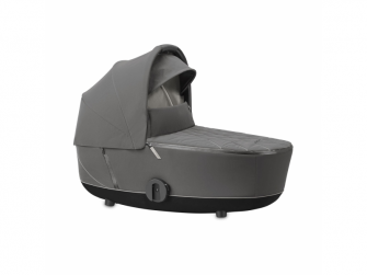 Mios Lux Carry Cot Soho Grey 2020 2