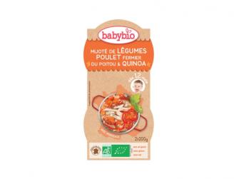 menu zelenina s kuřecím masem a quinoa 2x200g