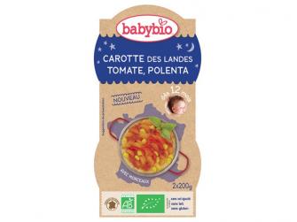 Good Night mrkev s rajčatovým pyré, sladkou kukuřicí a polentou 2x200g