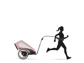 ZENO Vozík za běžce Black | black 3