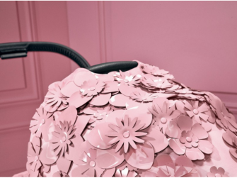 Priam Seat Pack SIMPLY FLOWERS, PINK-light pink 3