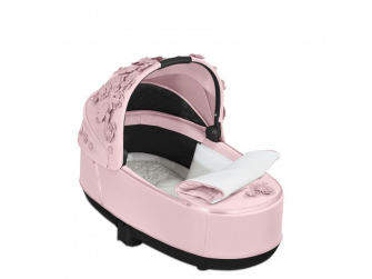 Priam Lux hluboká korba SIMPLY FLOWERS, PINK-light pink 2
