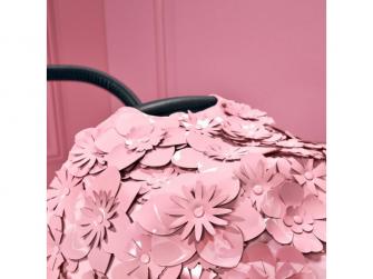 Priam Lux hluboká korba SIMPLY FLOWERS, PINK-light pink 3
