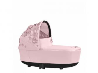 Priam Lux hluboká korba SIMPLY FLOWERS, PINK-light pink