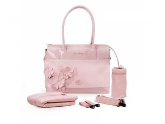 Přebalovací taška SIMPLY FLOWERS, PINK-light pink