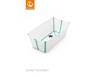 Skládací vanička Flexi Bath®, White Aqua
