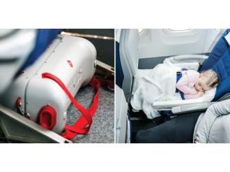 JetKids™ BedBox® - dětské zavazadlo s lůžkem, modré 3